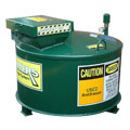 MVW-500-SD-E1-GREEN - 132 Gallon Standard Duty Containment for Used AntiFreeze E1 Finish - 500 Liter